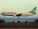 Leased from Luxair as still with the scheme at LPA