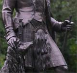 Prince Albert, Statue titled: in highland dress - Cliveden