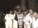 Derick Darling and Franco in Rome at Via Borgogniona. 70s