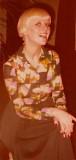 Sally, 171 New Bond st. receptionist  1971