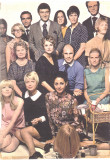 A representation of the a few of the staff that worked for the Boss in 1967