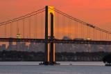 Throgs Neck Bridge & Manhattan Skyline