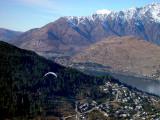 First Shot of a Paraglider