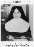 1951 - Sister Leo Xavier, principal of St. Mary's School