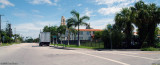 2008 - looking north on NW 2nd Avenue at St. Mary's Parochial School and Cathedral, Miami, photo #0659