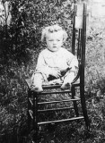 1914 - my father at 2 years old, John Milne Cary Boyd, in Braddyville, Iowa