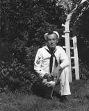 1944 - my father John Milne Cary Boyd as a BM1 in the U. S. Coast Guard during World War II