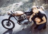 1969 - Ted Crownover and his Triumph
