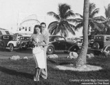 Late 1930's - Lutrelle Conger and her boyfriend at the time Dave Warner at Pier 5 in Miami