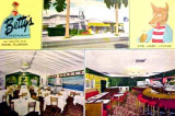 1950's - Betty's Restaurant and Lobo Lounge at 1440 Biscayne Boulevard, Miami