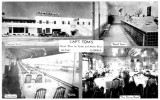 Mid 1930's - Capt. Tom's Seafood Restaurant at NW 1st Street and the Miami River, Miami