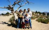 1985 - Karen Johnson, Justin Reiter, Brenda, Karen Dawn and Don at Virginia City, Nevada