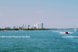 2009 - looking north at Oleta River State Park (left), Sunny Isles Beach condos and Haulover Park (right)  (#1602)