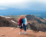 2009 - Karen and Donna on top of Pike's Peak, Colorado