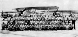 1943 - NAS Miami personnel posing at the Naval Air Station Miami