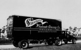 Late 1930's - a Standard Wholesale Grocery Company truck from Miami on the Tamiami Trail (see text below)