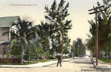 1920's? - NE 14th Street looking east towards Biscayne Bay, Miami