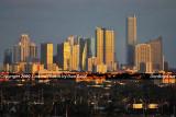 2009 - the Brickell Avenue area skyline at sunset