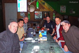 January 2010 - Joe Pries, Ben Wang, Don Boyd, Kevin Cook, Dave Hartman and Marc Hookerman at Bryson's Irish Pub