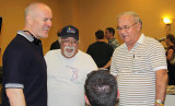 January 2010 - a candid shot of Joe Pries, Eddy Gual and Don Boyd at an airline memorabilia show