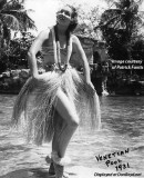 1931 - an unknown young lady modelling at the Venetian Pool in the Gables