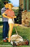 Reel lawn mowers