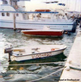 1987 - Michael Kandrashoff's fishing boat at Watson Island