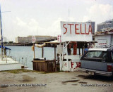 1990 - the Kandrashoff fish stand on Watson Island (comments below)
