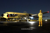 Roger Jarman watching the Historical Flight Foundation's restored Eastern Air Lines DC-7B N836D
