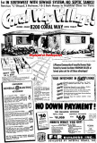 1954 - ad for Coral Way Village by F&R Builders, first in SW Dade with sewage systems!