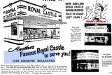 1948 - closeup of an ad for a new Royal Castle at 1032 Biscayne Boulevard, Miami