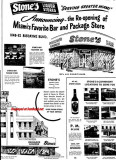 1948 - ad for Stone's Liquor Stores and Bars, Miami