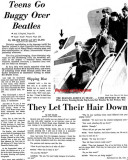 1964 - the Beatles arrive at Miami International Airport to appear on the Ed Sullivan Show