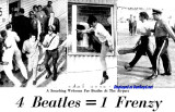 1964 - 4 Beatles = 1 Frenzy, a smashing welcome for the Beatles at Miami International