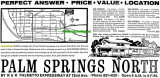 1962 - closeup of ad for new homes in Palm Springs North by R&R