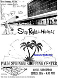 1960 - ad for the grand opening of Palm Springs Village Shopping Center on March 30th