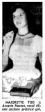 1955 - Gloria Annette Heaton in the Miami News article about 1955 high school graduates in the Miami area
