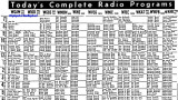 1955 - guide to local Miami area radio stations