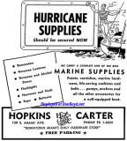 1956 - ad for Hopkins Carter