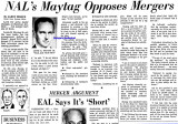 1962 - first interview with 36-year old Lewis B. Bud Maytag after he bought National Airlines from George T. Baker