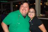 Jimmy Farmer and our friendly server Shay Casper who was moving to Austin, Texas a few days later