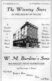 1910s - W. M. Burdine's Sons department store ad (see below)