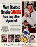 1950s - More Doctors Smoke Camels advertisement