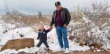 2007 - Kyler Matthew Kramer and his Grandpa Don Boyd