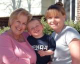 2007 - Grandma Karen C. Boyd, grandson Kyler M. and daughter Karen D. Kramer
