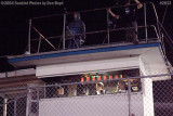 The announcers booth at Hialeah Speedway shortly before it closed