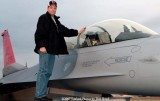 2007 - Paul Robbins and Alabama Air National Guard F-16D #AF87-0379