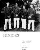 1962 - Junior Class Officers for the Miami Military Academy