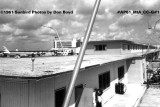 1961 - Concourse 2 and Miami International Airport terminal