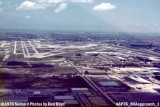 1976 - short final approach to runway 9-left at Miami International Airport